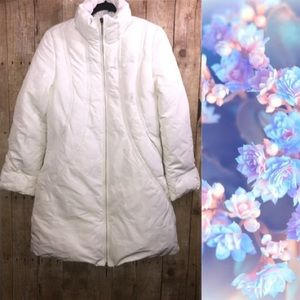 Via Spiga White Puffer Jacket Size Medium